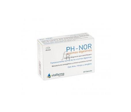 Vitalfarma Ph-Nor 30 Cápsulas - Farmacia Ribera