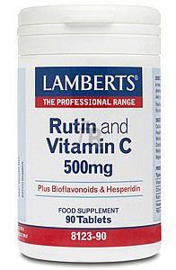 Rutin + Vit. C + Bioflavonoides 90 Comp. - Lamberts