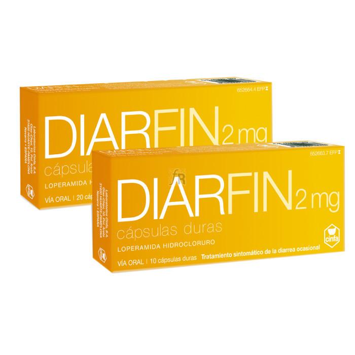 Diarfin (2 Mg 20 Cápsulas) - Cinfa