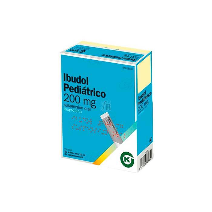 Ibudol Pediatrico (200 Mg 20 Sobres Suspension Oral) - Kern Farma
