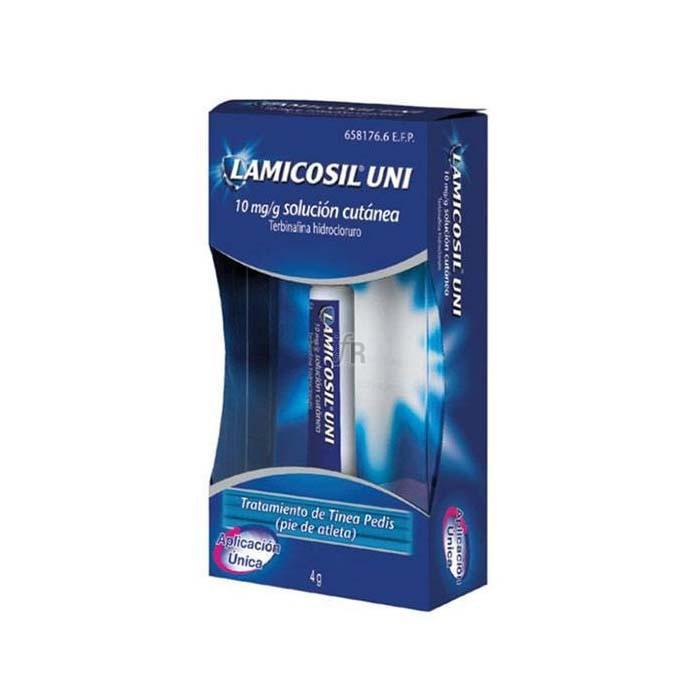 Lamicosil Uni (10 Mg/G Solución Tópica 4 G) - Novartis