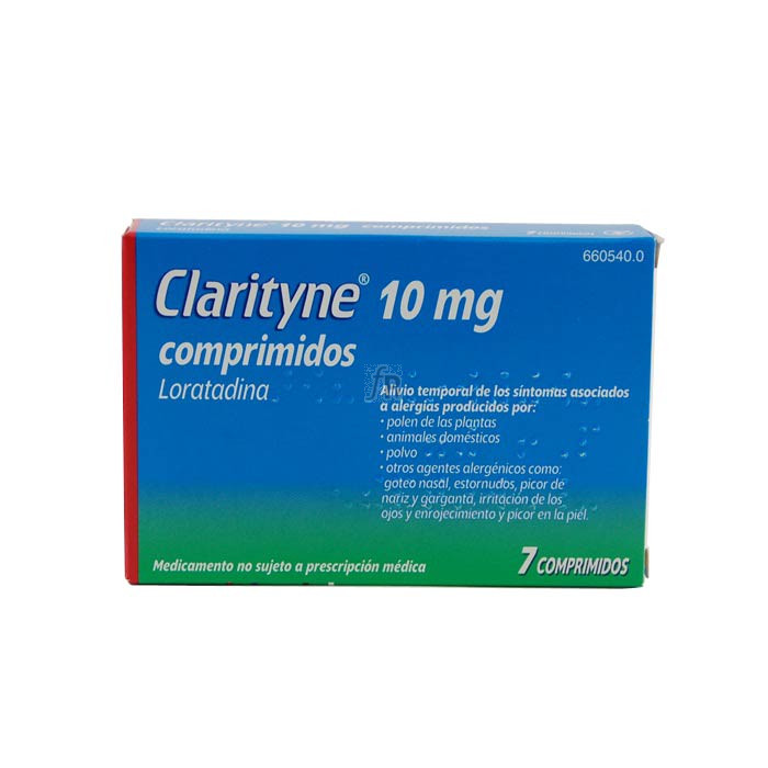 Clarityne (10 Mg 7 Comprimidos) - Bayer