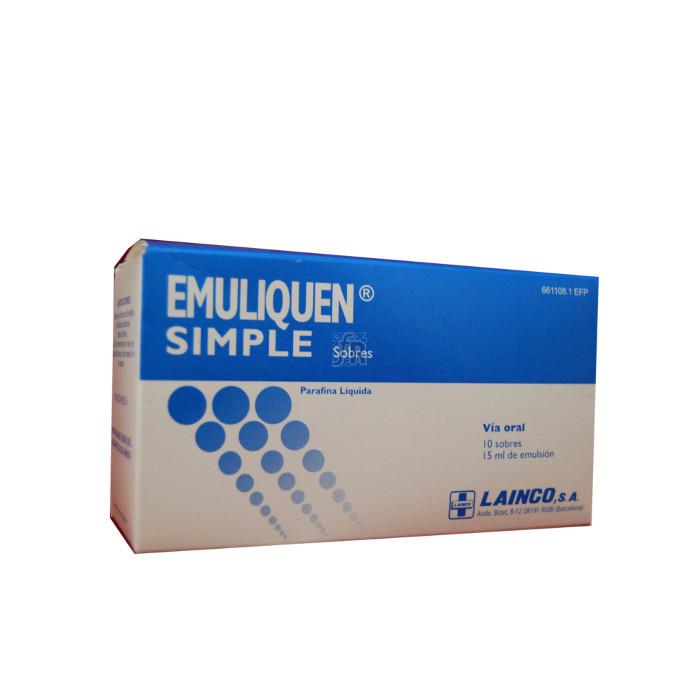 Emuliquen Simple (7.17 G 10 Sobres 15 Ml) - Lainco
