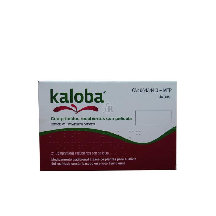 Kaloba (20 Mg 21 Comprimidos Recubiertos) - Schwabe Farma