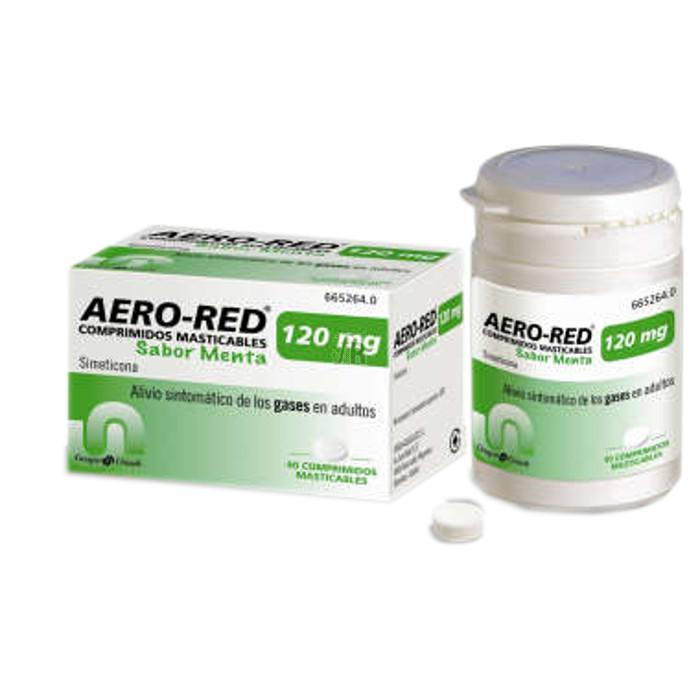 Aero Red (120 Mg 40 Comprimidos Masticables Menta) - Aquilea-Uriach
