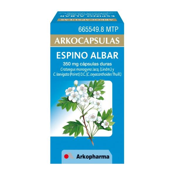 Arkocapsulas Espino Albar (350 Mg 48 Capsulas) - Arkopharma