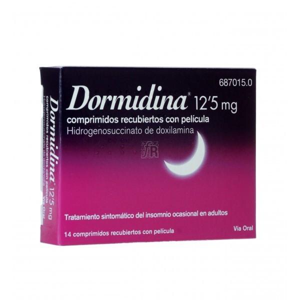 Dormidina (12.5 Mg 14 Comprimidos Recubiertos) - Esteve