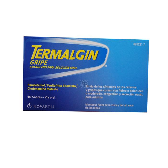 Termalgin Gripe (10 Sobres) - Novartis