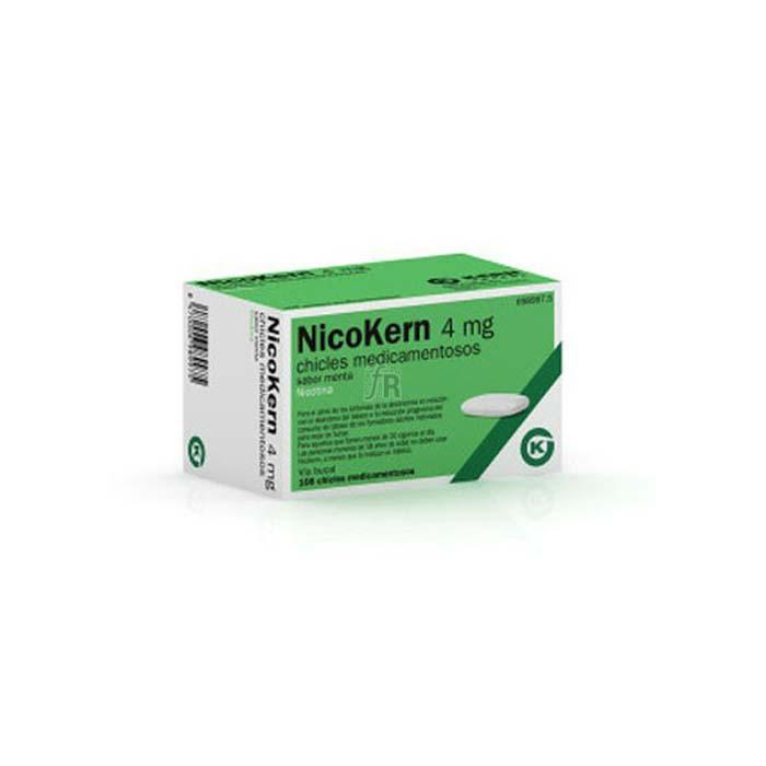 Nicokern (4 Mg 108 Chicles Sabor Menta) - Kern Farma