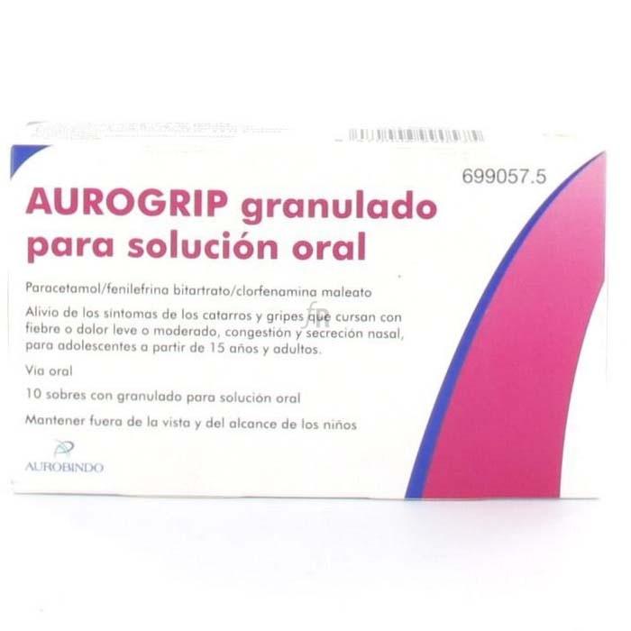 Aurogrip (10 Sobres) - Varios