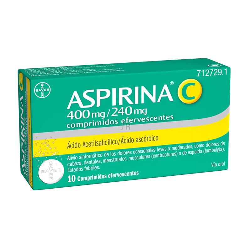 Aspirina C (400/240 Mg 10 Comprimidos Efervescentes) - Bayer