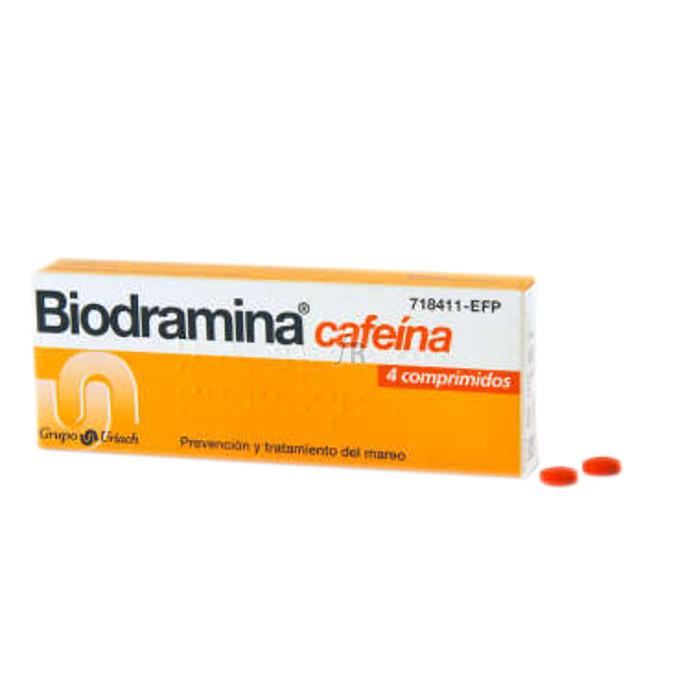 Biodramina Cafeina (4 Comprimidos) - Aquilea-Uriach