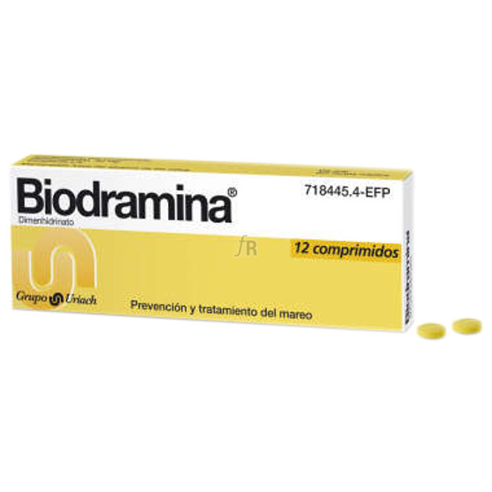 Biodramina (50 Mg 12 Comprimidos) - Aquilea-Uriach