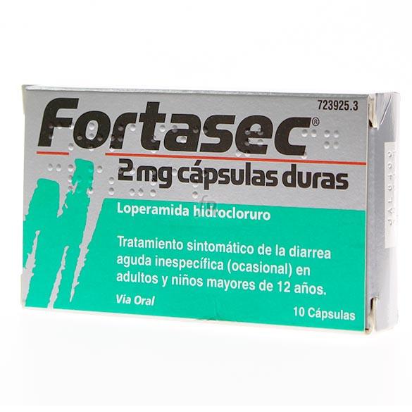 Fortasec (2 Mg 10 Cápsulas)