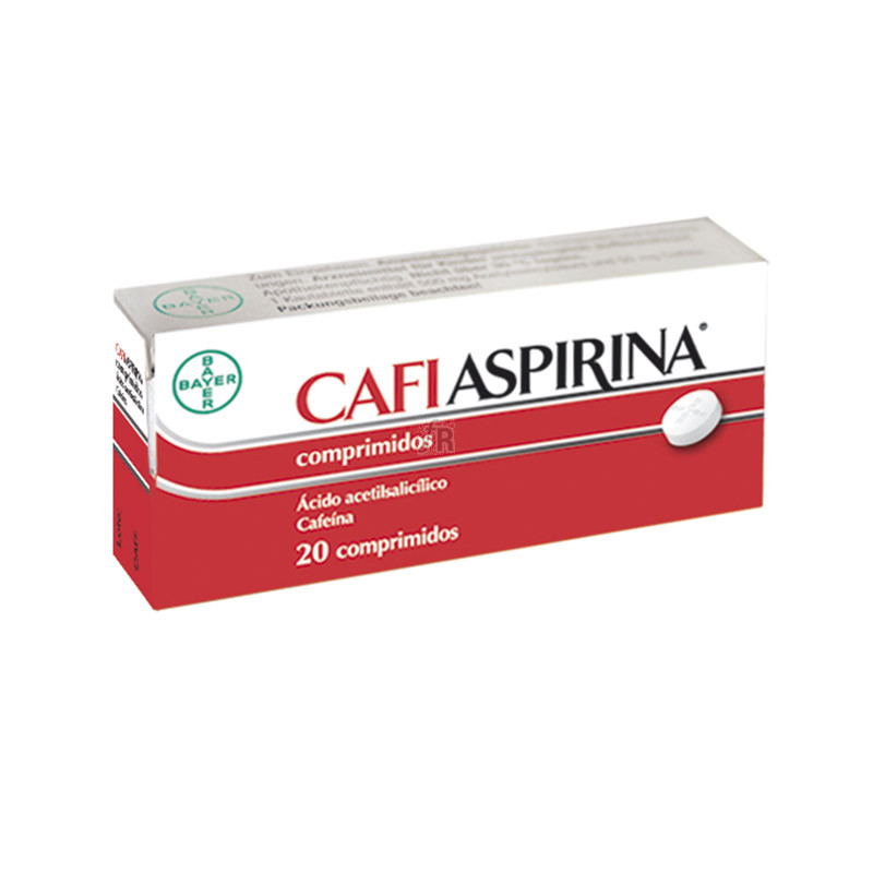 Cafiaspirina (500/50 Mg 20 Comprimidos) - Bayer