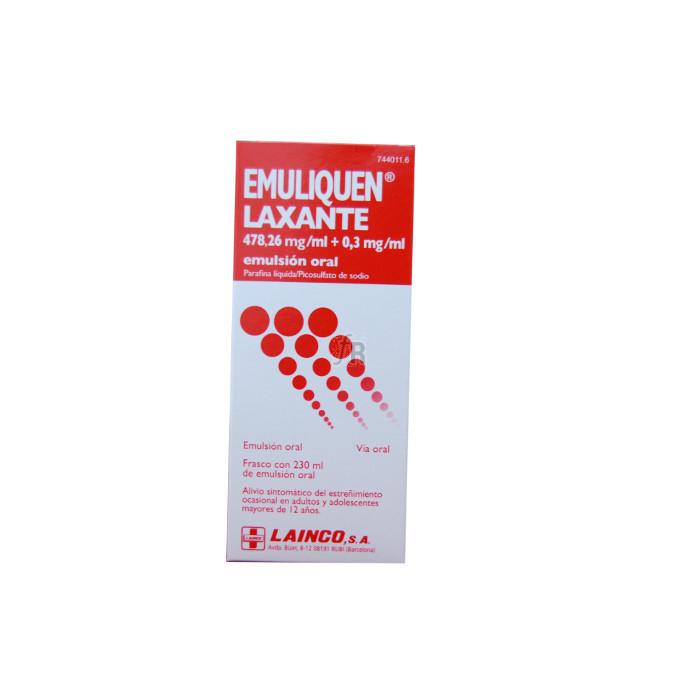 Emuliquen Laxante (Emulsion Oral 230 Ml) - Lainco