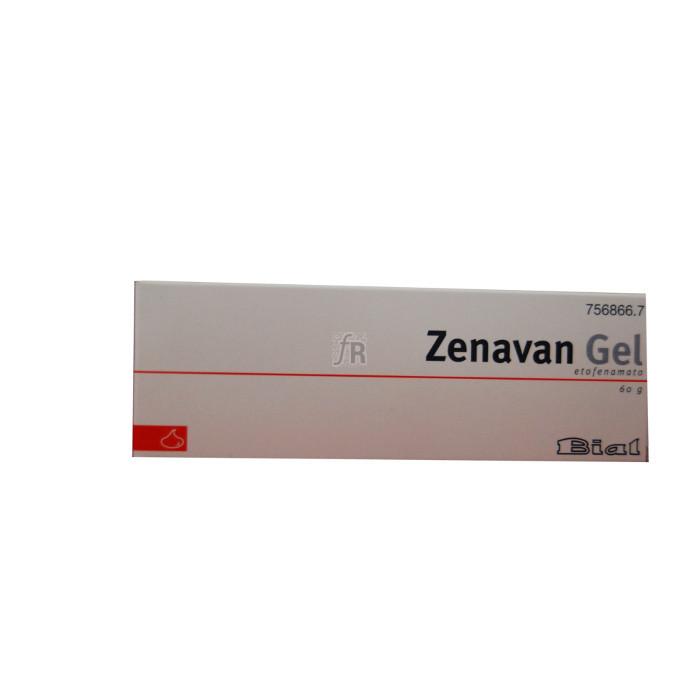 Zenavan (50 Mg/G Gel Topico 60 G) - Varios