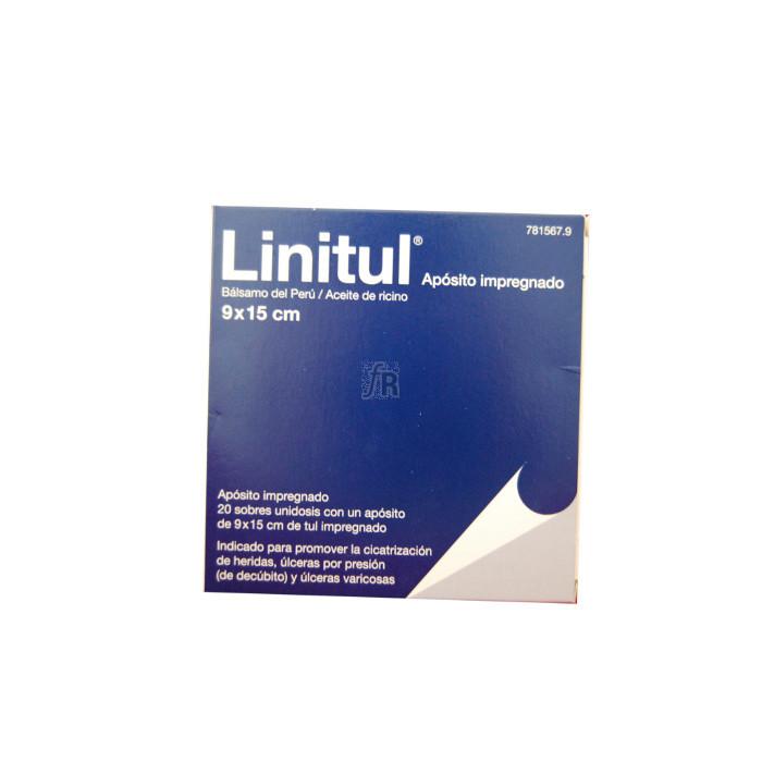 Linitul (20 Apositos Monodosis 9 X 15 Cm) - Varios