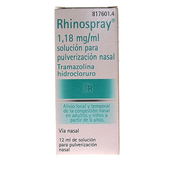 Rhinospray solución para pulverización nasal Descongestivo