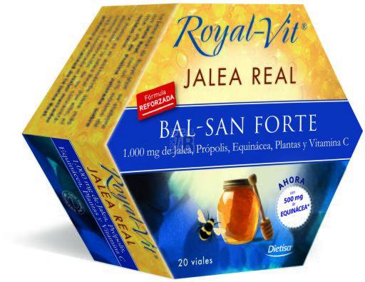Jalea Real Royal Vit Balsan Forte (Pulmonar) 20Amp