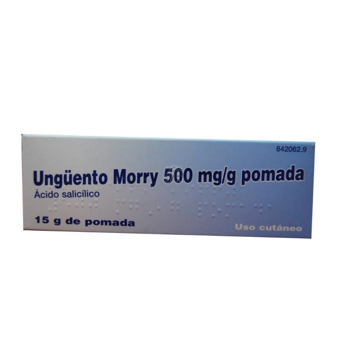 Unguento Morry (500 Mg/G Pomada 15 G) - Varios