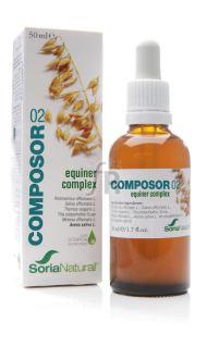 Soria Natural Composor 02 Equiner Complex XXI 100 Ml.