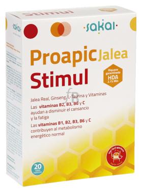 Proapi Jalea Real Stimul Con Ginseng 20Amp.