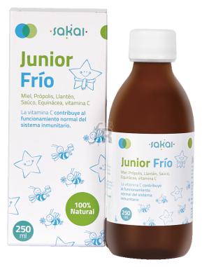 Junior Frio Jarabe 250 Ml.