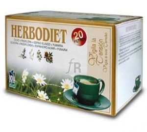 Herbodiet Inf. Vigila Tu Tension 20 Filtros - Novadiet