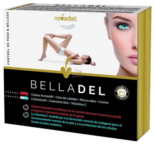 Belladel 60 Cap.  - Novadiet