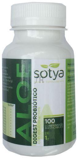 Aloe Vera Masticable 1Gr.100 Comp. - Sotya