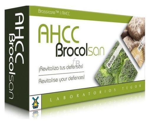 Ahcc Brocolsan 60 Cap.  - Tegor