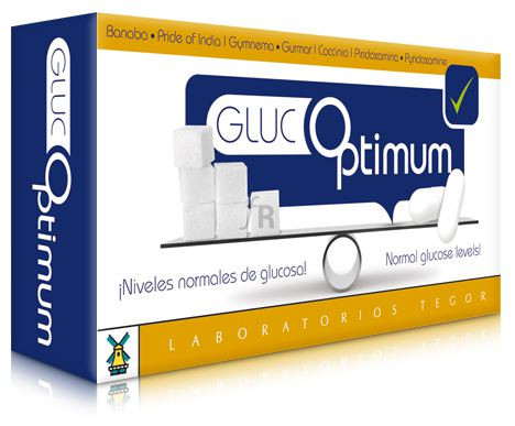 Glucoptimum 60 Cap.  - Tegor