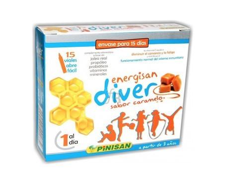 Pinisan Energisan Diver 15 Viales - Farmacia Ribera