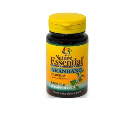 Nature Essential Arandano 1000 Mg 50Cap - Farmacia Ribera