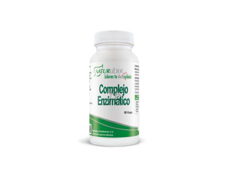 Naturlider Comprimidoslejo Enzimatico 90 Vcaps - Farmacia Ribera