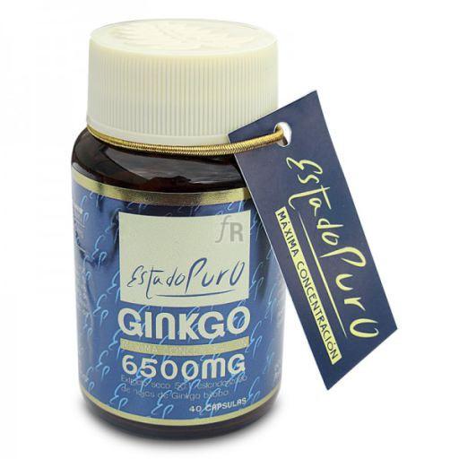 Ginkgo 6500Mg. 40 Cap. Estado Puro - Tongil