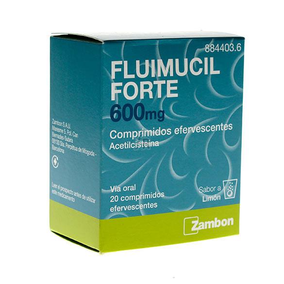 Fluimucil Forte (600 Mg 20 Comprimidos Efervescentes)