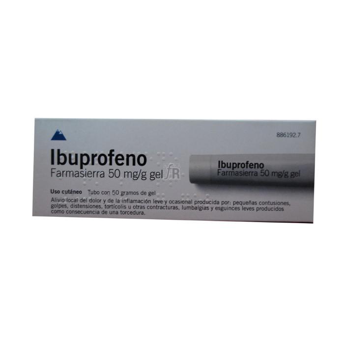 Ibuprofeno Farmasierra (50 Mg/G Gel Topico 50 G) - Farmasierra