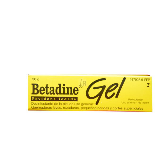 Betadine (100 Mg/G Gel Topico 30 G) - Meda