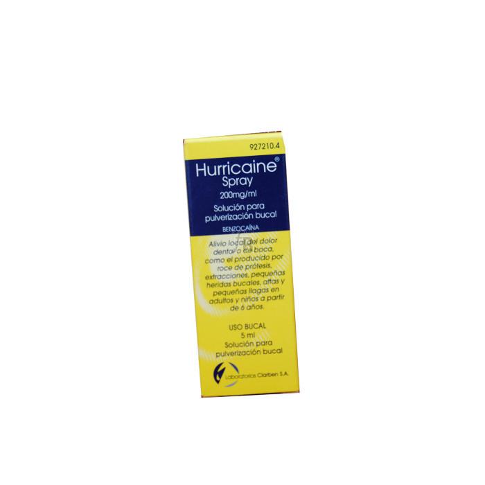 Hurricaine (200 Mg/Ml Solucion Topica Pulverizador 5 Ml) - Varios