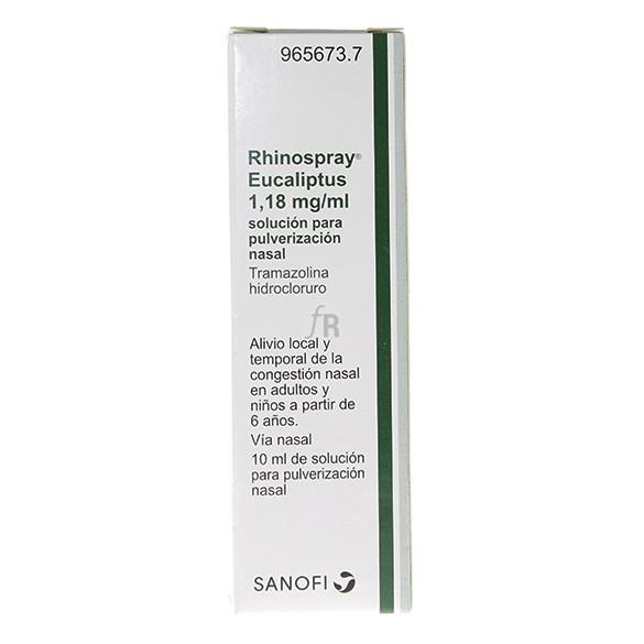 Rhinospray Eucaliptus  solución para pulverización nasal Descongestivo - Sanofi