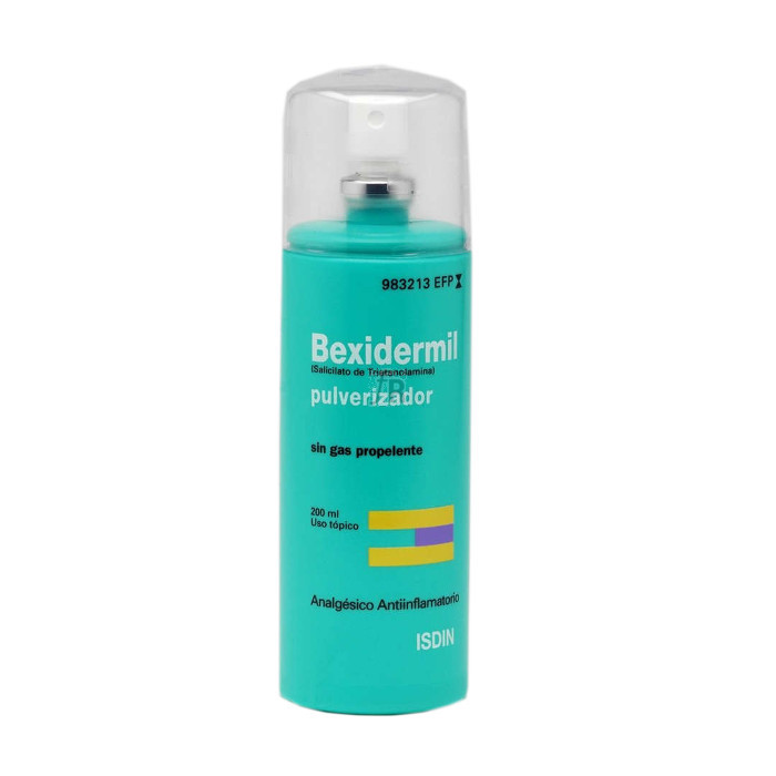 Bexidermil (100 Mg/Ml Aerosol Topico 200 Ml) - Isdin