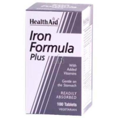 Iron Formula Plus 100 Tabletas Health Aid