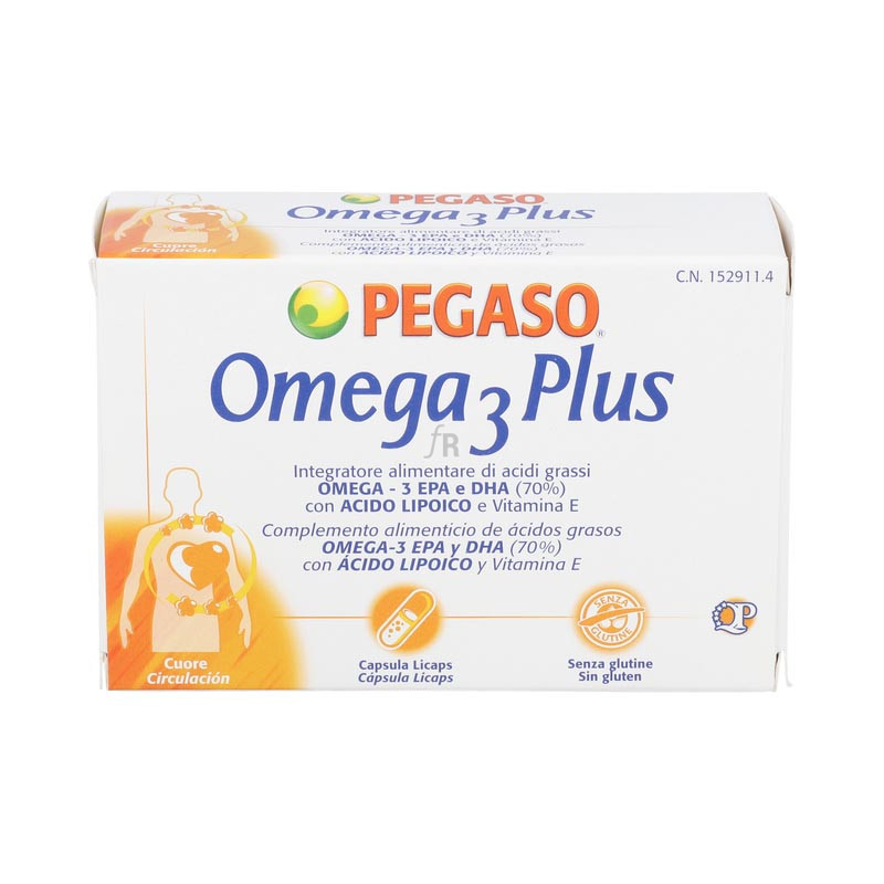 Omega 3 Plus 40Cap. Pegaso