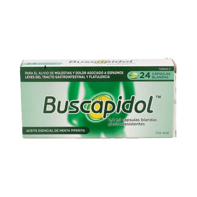 Buscapidol 0,2 Ml 24 Cápsulas Blandas