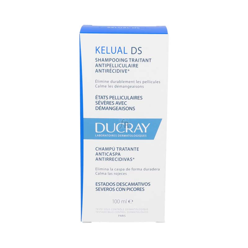 Kelual Ducray DS Champú 100 ml.