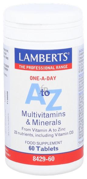 A-Z Multi 60 Tabletas Lamberts - Lamberts