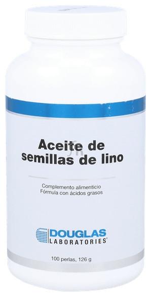 Aceite de semillas de lino 1000 mg. 100 perlas - Douglas