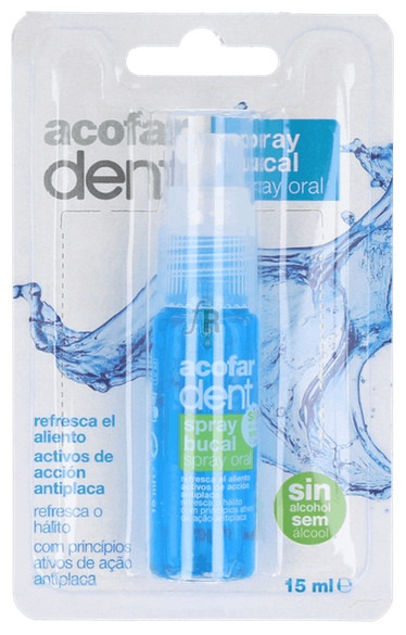 Acofardent Spray Bucal Sin Alcohol 15 Ml - Farmacia Ribera